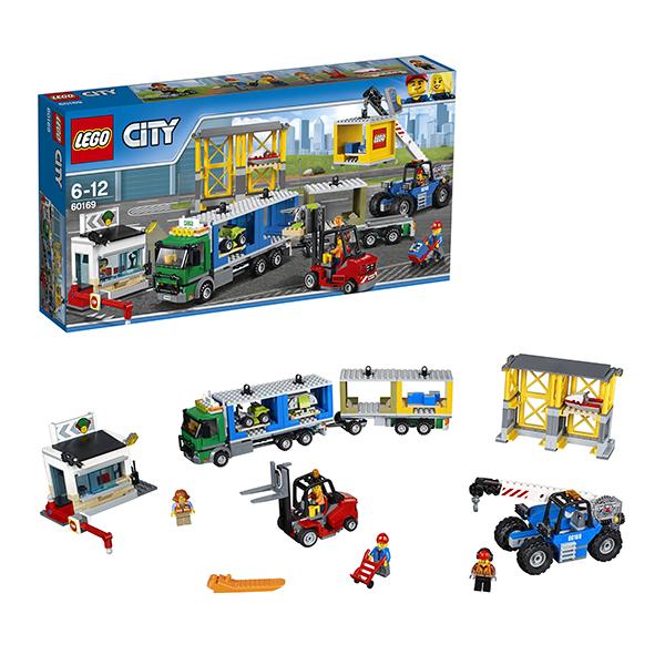 Купить Lego City 60169 Лего Город Грузовой терминал, Конструктор LEGO