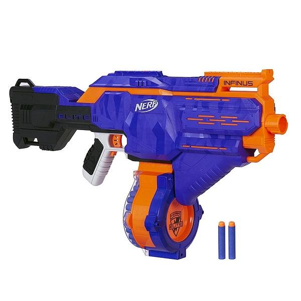 Купить Hasbro Nerf E0438 Нерф Бластер Элит Инфинус, Игрушечное оружие и бластеры Hasbro Nerf