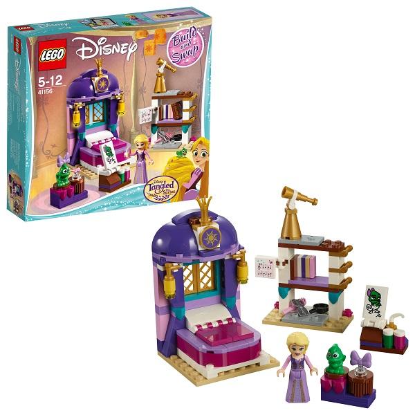 Купить LEGO Disney Princess 41156 Конструктор ЛЕГО Принцессы Дисней Спальня Рапунцель в замке, Конструкторы LEGO