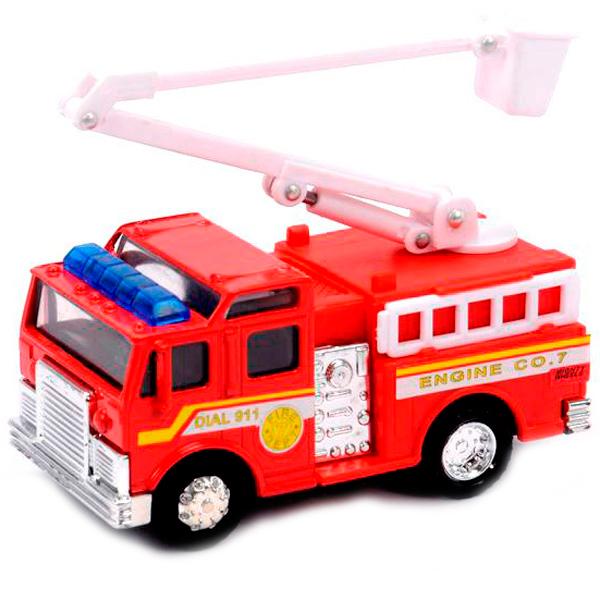Купить Soma 78048 Пожарная машина 12 см, Машинка New Bright&Soma