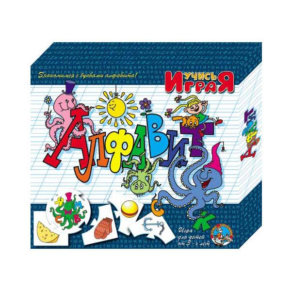 Купить Десятое королевство TD00071 Игра обучающая Учись играя Алфавит , Развивающие игрушки для малышей Десятое Королевство