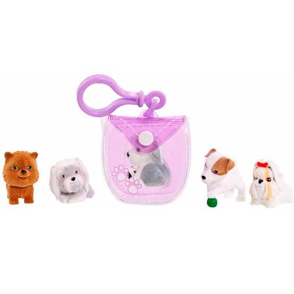 Купить Puppy In My Pocket 48180-V Щенок в моем кармане Брелок-сумочка (фиолетовая), Аксессуар Puppy In My Pocket