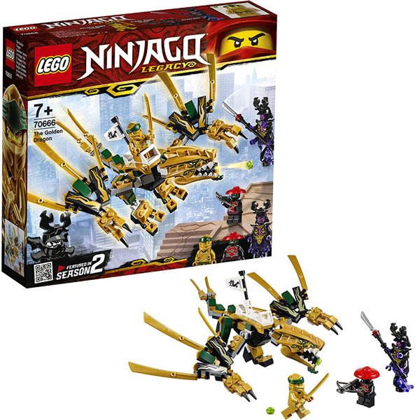 Lego Ninjago 70666 Конструктор Лего Ниндзяго Золотой Дракон, Конструкторы LEGO  - купить со скидкой