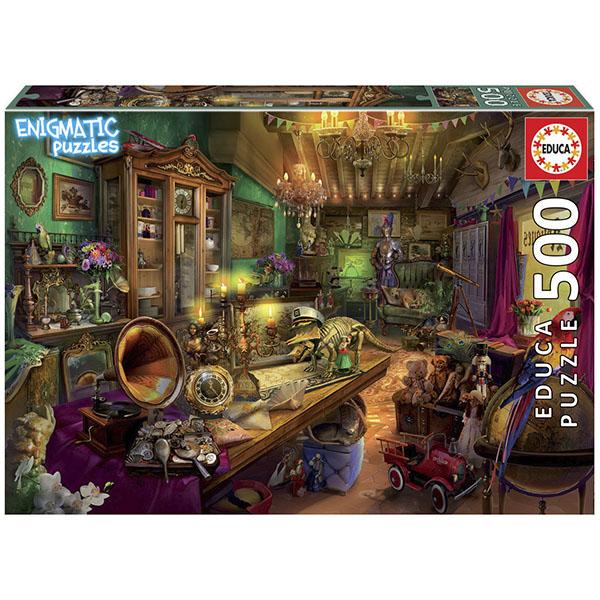 Купить EDUCA 18480 Пазл 500 деталей Антикварный магазин