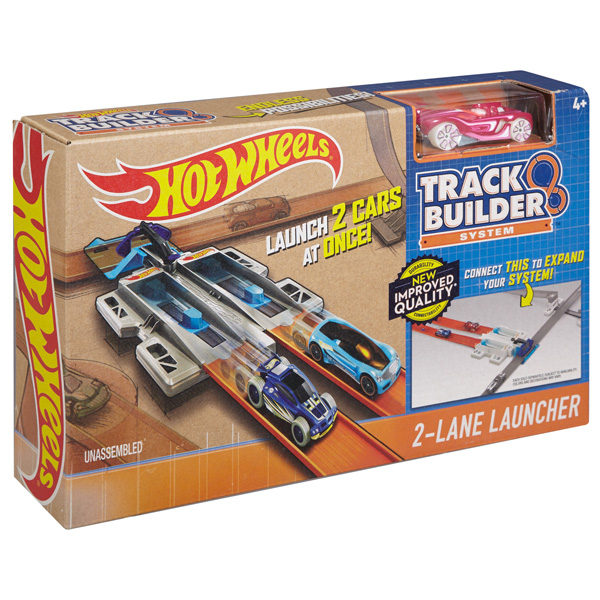 Купить Mattel Hot Wheels DJD68 Хот Вилс Конструктор трасс 2-lane Launcher, Машинка Mattel Hot Wheels