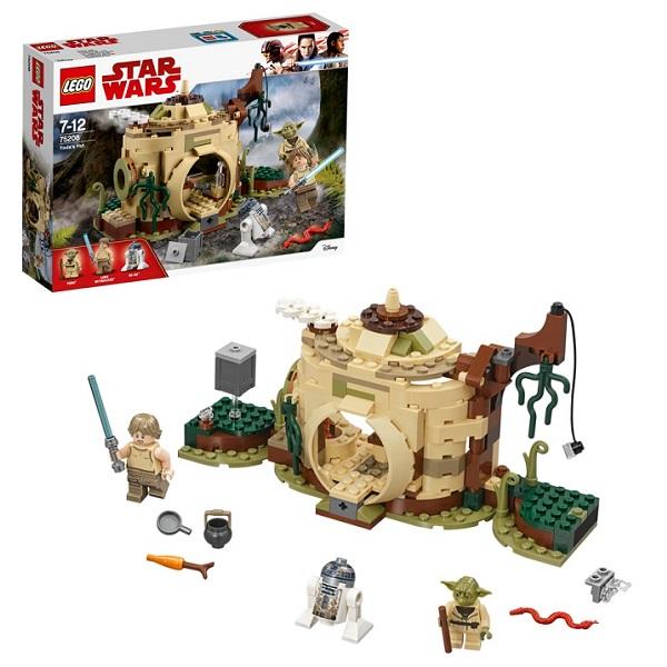 Купить Lego Star Wars 75208 Конструктор Лего Звездные Войны Хижина Йоды, Конструкторы LEGO