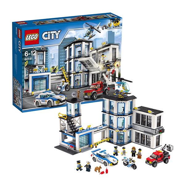 Купить Lego City 60141 Конструктор Лего Город Полицейский участок, Конструктор LEGO