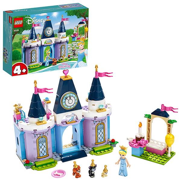 Купить LEGO Disney Princess 43178 Конструктор ЛЕГО Принцессы Дисней Праздник в замке Золушки, Конструкторы LEGO