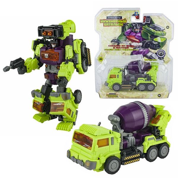 Купить 1toy T16432 Трансботы Инженерный батальон XL: Мега Миксербот , 19 см, Игрушечные роботы и трансформеры 1toy