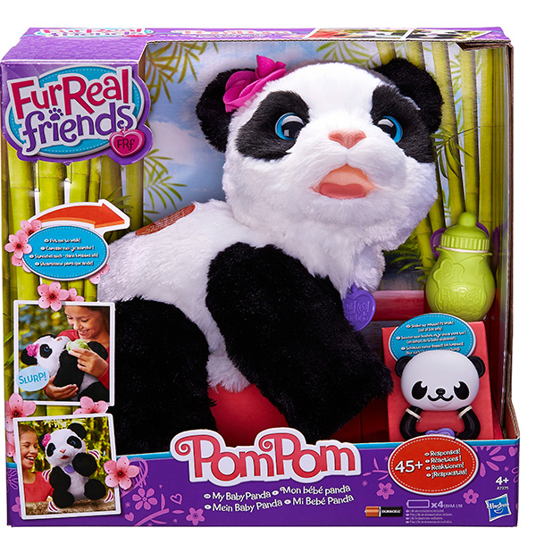 Hasbro Furreal Friends Furreal Friends A7275 Интерактивная игрушка - Малыш Панда