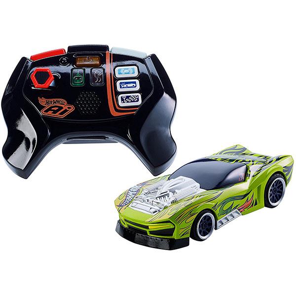 Купить Mattel Hot Wheels FBL85 Хот Вилс Игрушка HW AI Р/у машинка и пульт для Умной трассы, автотрек Mattel Hot Wheels