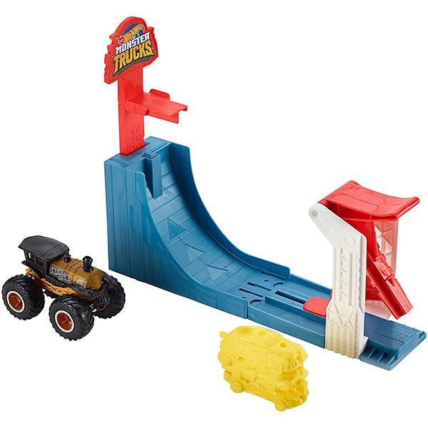 Купить Mattel Hot Wheels GCG00 Хот Вилс Игровой набор Монстр трак Поединок в воздухе , Игровые наборы Mattel Hot Wheels