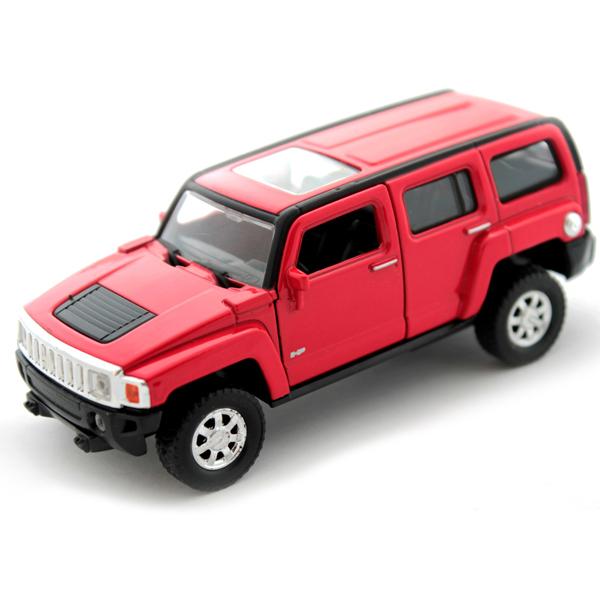 Купить Welly 43629 Велли Модель машины 1:34-39 Hummer H3, Машинка инерционная Welly