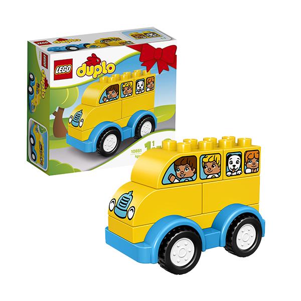 Купить LEGO DUPLO 10851 Конструктор ЛЕГО ДУПЛО Мой первый автобус, Конструктор LEGO