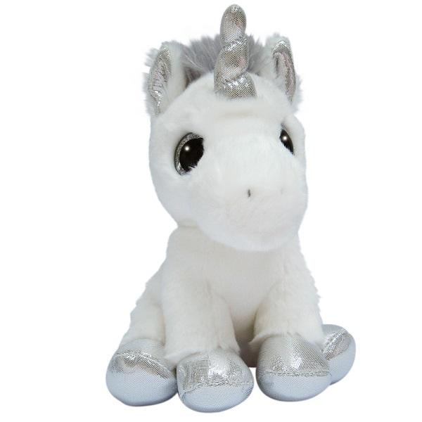 Aurora 150710K Единорог серебряный, 20 см - Мягкие игрушки