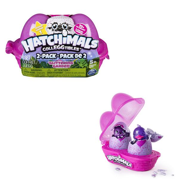 Купить Hatchimals 19114 Хетчималс Коллекционные фигурки, 2 штуки в наборе, Интерактивная игрушка Hatchimals