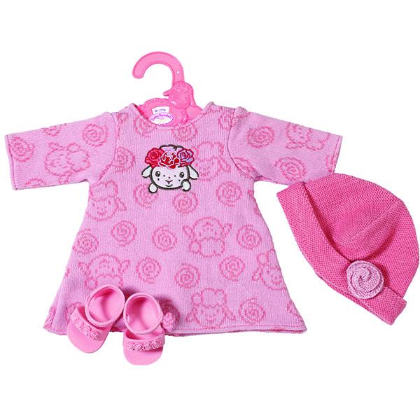 Купить Zapf Creation my little Baby Annabell 701-843 Бэби Борн Платье, шапочка и босоножки, 36 см, Куклы и пупсы Zapf Creation