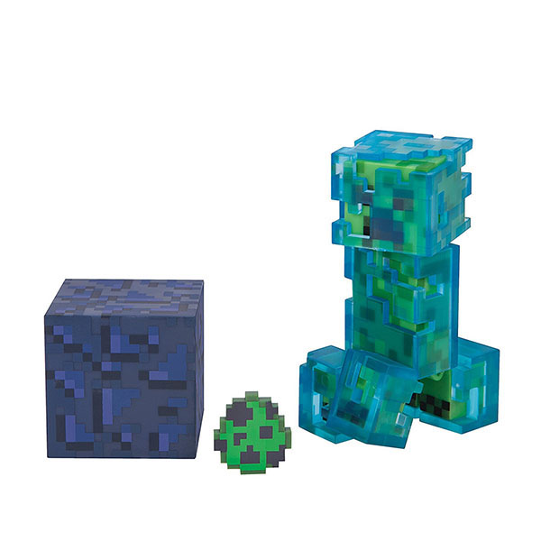 Купить Minecraft 16476 Майнкрафт фигурка Charged Creeper, Минифигурка Minecraft