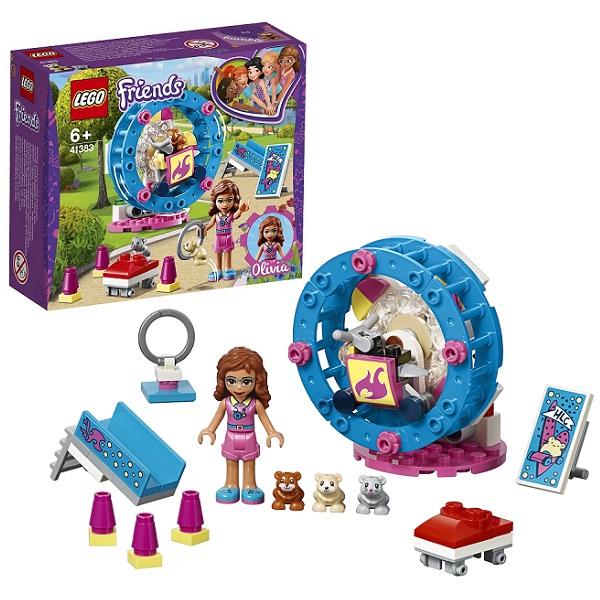 Купить LEGO Friends 41383 Конструктор ЛЕГО Подружки Игровая площадка для хомячка Оливии, Конструкторы LEGO