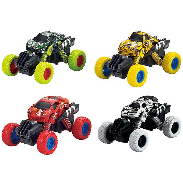 Купить Wincars YK-2208 Машинка с большими колёсами инерционная металлическая 10 см, (в ассортименте), Игрушечные машинки и техника ТМ Wincars