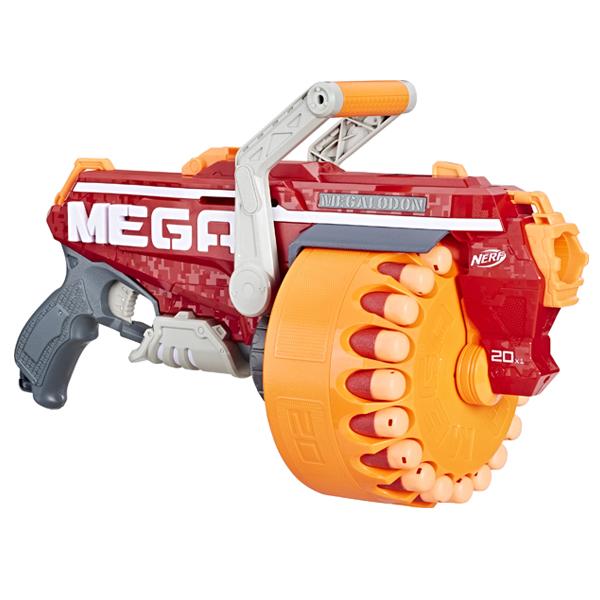 Игрушечное оружие Hasbro Nerf E4217 Нерф Игровой набор бластер МЕГА Мегалодон фото