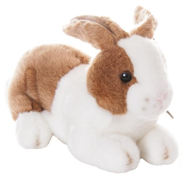 Купить Aurora 25-302 Аврора Кролик коричневый 25 см, Мягкая игрушка Aurora