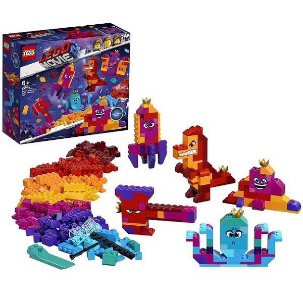 Купить LEGO Movie 2 70825 Конструктор ЛЕГО Фильм 2 Шкатулка королевы Многолики Собери что хочешь , Конструкторы LEGO