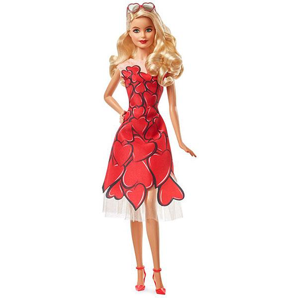 Купить Mattel Barbie FXC74 Барби Коллекционная кукла в в красном платье, Куклы и пупсы Mattel Barbie