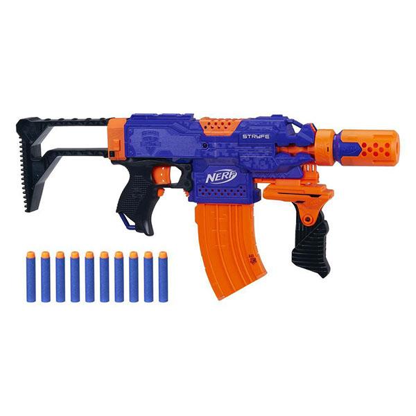 Купить Hasbro Nerf E2341 Нерф Элит Бластер Супер Страйф, Игрушечное оружие и бластеры Hasbro Nerf