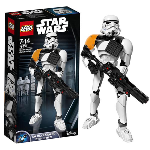 Купить Lego Star Wars 75531 Лего Звездные Войны Командир штурмовиков, Конструктор LEGO