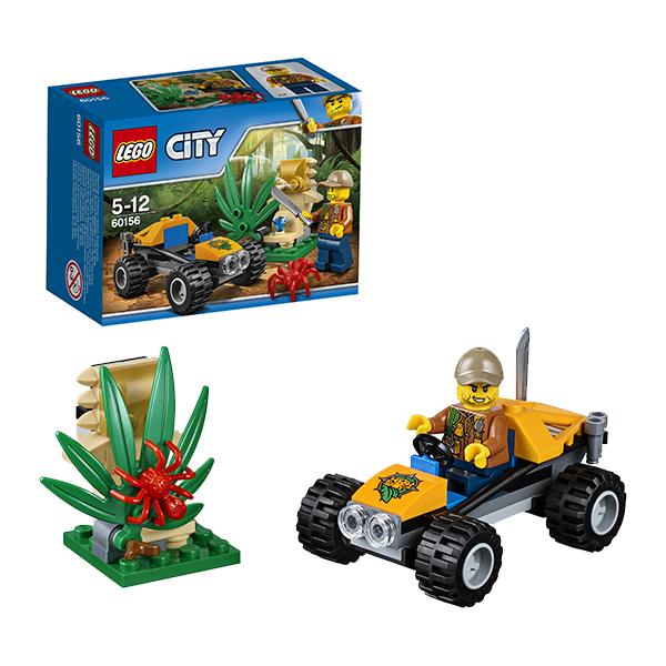 Lego City 60156 Конструктор Лего Город Багги для поездок по джунглям, арт:149772 - Город, Конструкторы LEGO