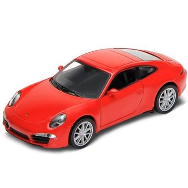 Welly 73151 Велли Модель машины 1:87 Porsche 911 (991) Carrera S