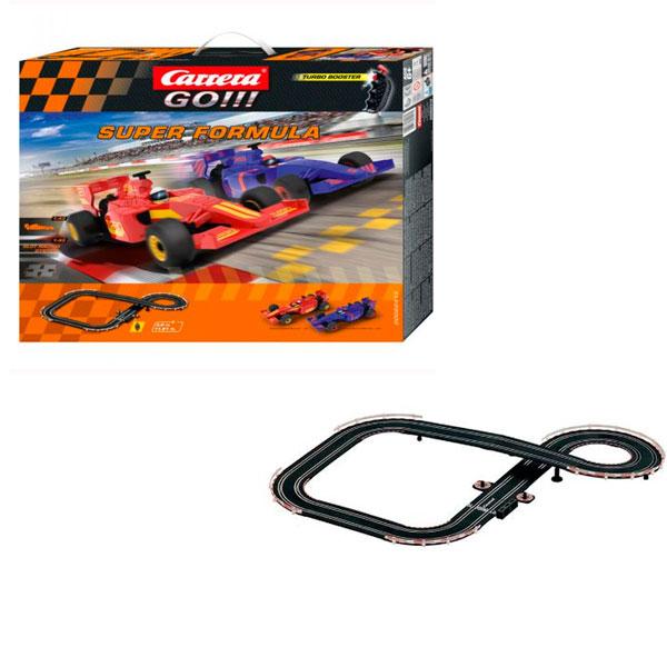 Купить Carrera 62413 Автотрек Super Formula на р/у с 2-мя машинками, Игровой набор Carrera