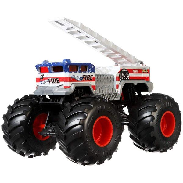 Купить Mattel Hot Wheels GBV29 Хот Вилс Монстр трак 1:24 5 ALARM, Игрушечные машинки и техника Mattel Hot Wheels