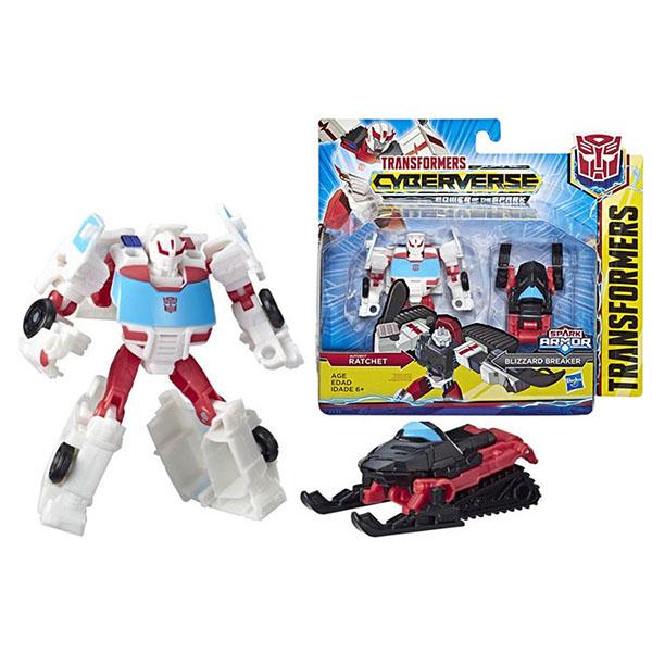 Купить Hasbro Transformers E4219/E4299 Трансформеры КИБЕРВСЕЛЕННАЯ СПАРК АРМОР Рэтчет 13 см., Игрушечные роботы и трансформеры Hasbro Transformers