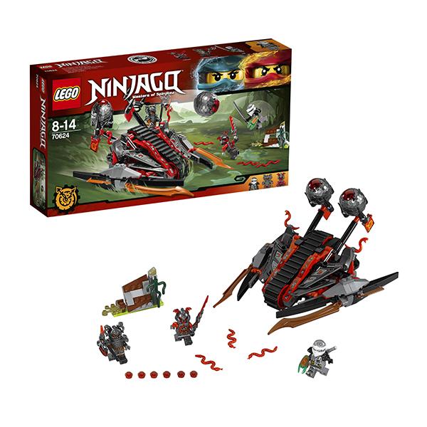 Купить Lego Ninjago 70624 Лего Ниндзяго Алый захватчик, Конструктор LEGO