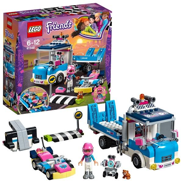Lego Friends 41348 Конструктор Лего Подружки Грузовик техобслуживания, арт:154209 - Подружки, Конструкторы LEGO