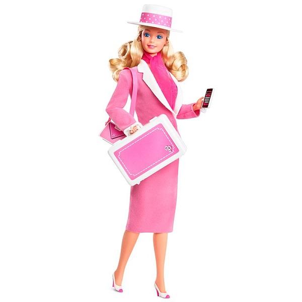 Mattel Barbie FJH73 Ретро репродукция  кукла в сменном наряде для работы и вечеринки - Куклы и аксессуары