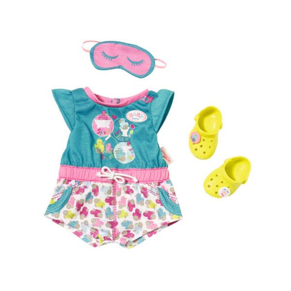 Купить Zapf Creation Baby born 822-470 Бэби Борн Пижамка с обувью, Аксессуары для куклы Zapf Creation