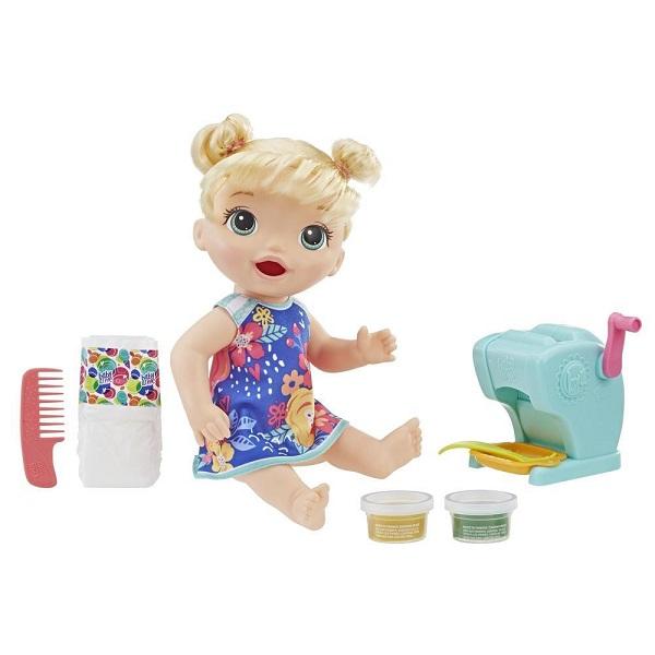 Hasbro Baby Alive E3694 Кукла Малышка и макароны - Куклы и аксессуары