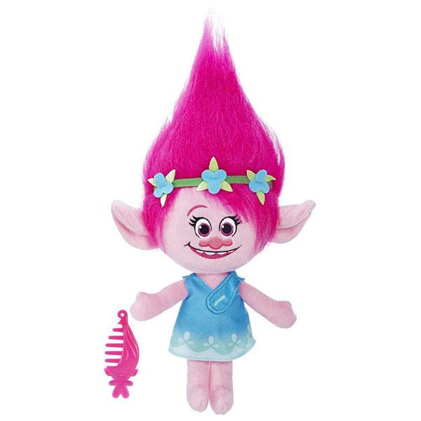 Купить Hasbro Trolls B7772 Тролли Говорящая Поппи, Мягкие игрушки Hasbro Trolls