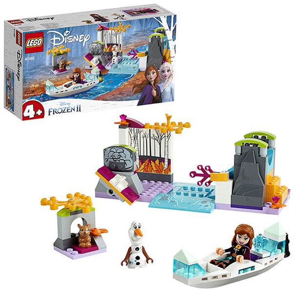 Купить LEGO Disney Princess 41165 Конструктор ЛЕГО Принцессы Дисней Экспедиция Анны на каноэ, Конструкторы LEGO