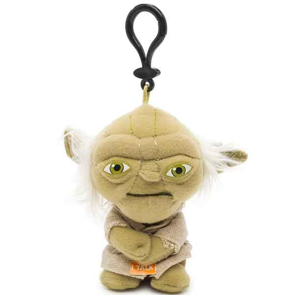 Star Wars SW00248 Звездные войны Брелок Йода, блистер, арт:121082 - StarWars, Мягкие игрушки
