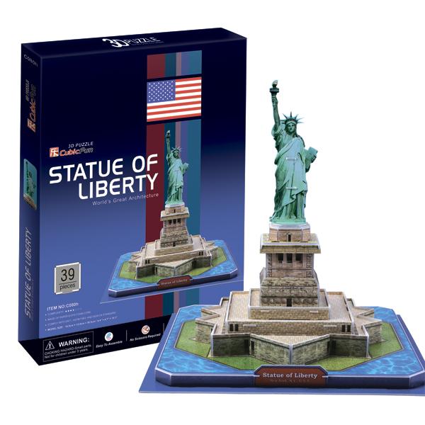 Купить Cubic Fun C080h Кубик фан Статуя Свободы (США), 3D пазлы Cubic Fun