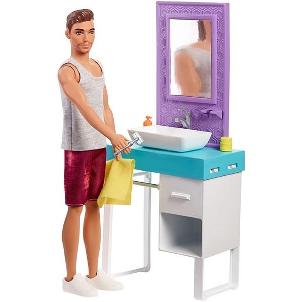 Купить Mattel Barbie FYK53 Барби Кен и набор мебели, Куклы и пупсы Mattel Barbie