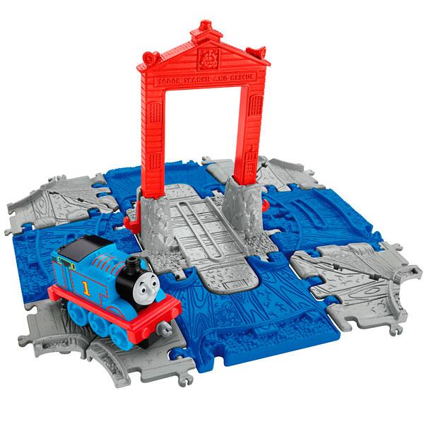 Наборы игрушечных железных дорог, локомотивы, вагоны Mattel Thomas & Friends - Железные дороги и паровозики, артикул:153148