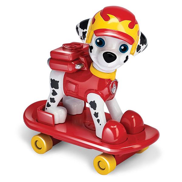 Paw Patrol 16655 Щенячий патруль фигурка спасателя со скейтбордом - Игровые наборы