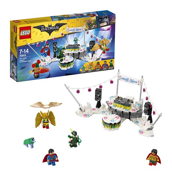 LEGO Batman Movie 70919 Конструктор ЛЕГО Фильм Бэтмен: Вечеринка Лиги Справедливости, Конструкторы LEGO  - купить со скидкой