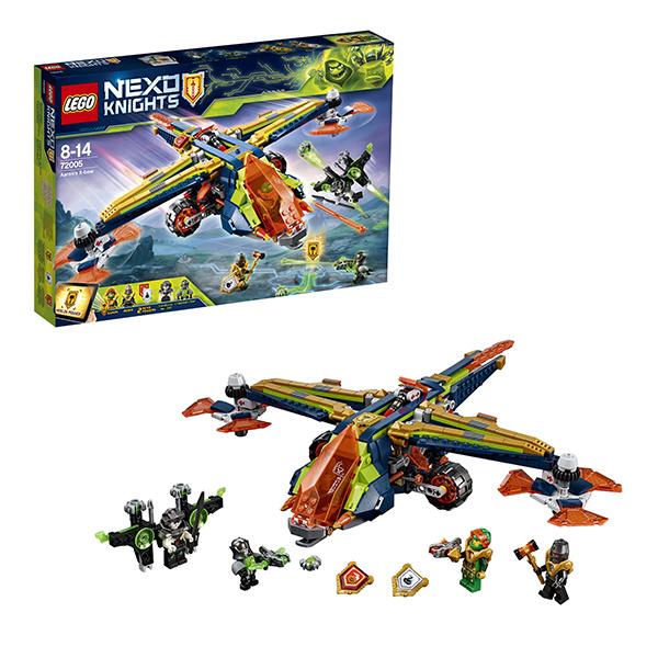 Купить Lego Nexo Knights 72005 Лего Нексо Аэро-арбалет Аарона, Конструкторы LEGO