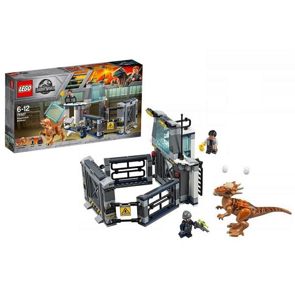 Купить LEGO Jurassic World 75927 Конструктор ЛЕГО Мир Юрского Периода Побег стигимолоха из лаборатории, Конструкторы LEGO